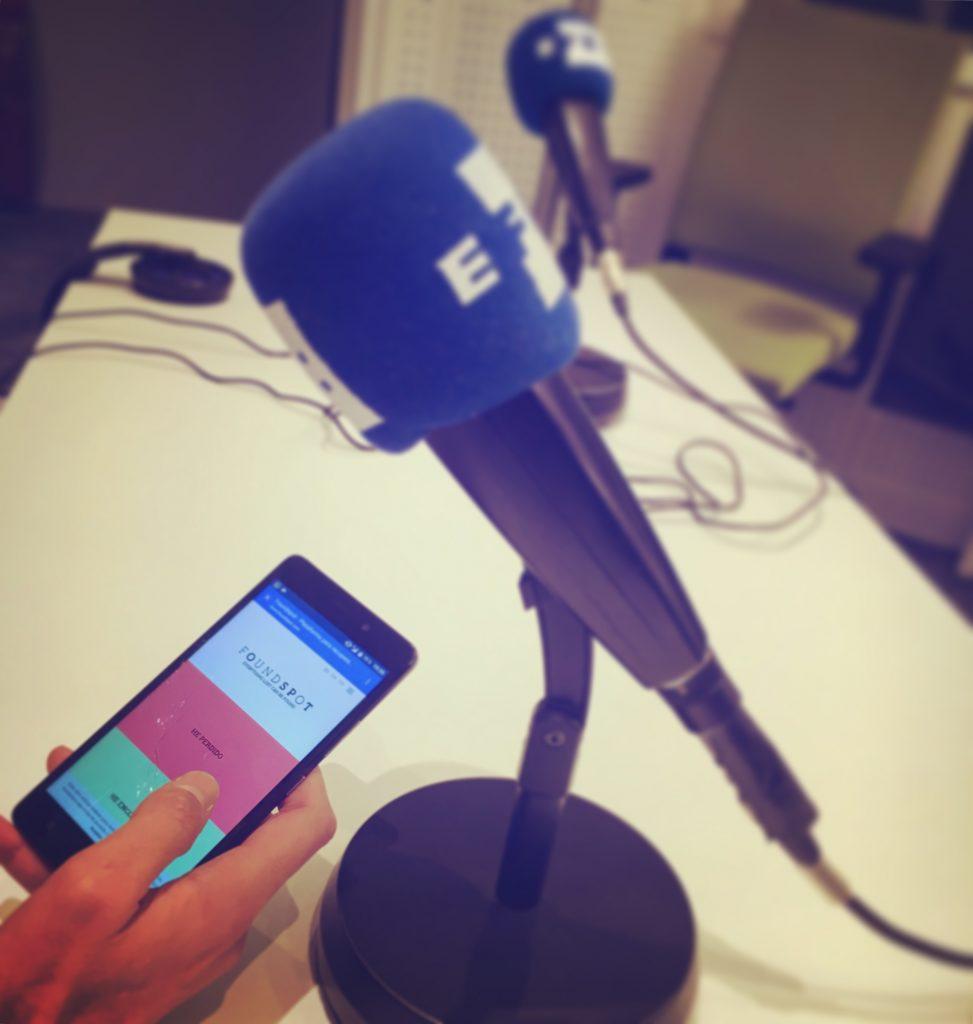 Foundspot en PymeTech de EFE Radio